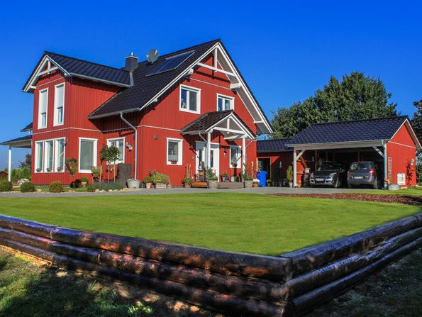 Fertighaus, Schwedenhaus, Foto: Burkhard/fotolia.com