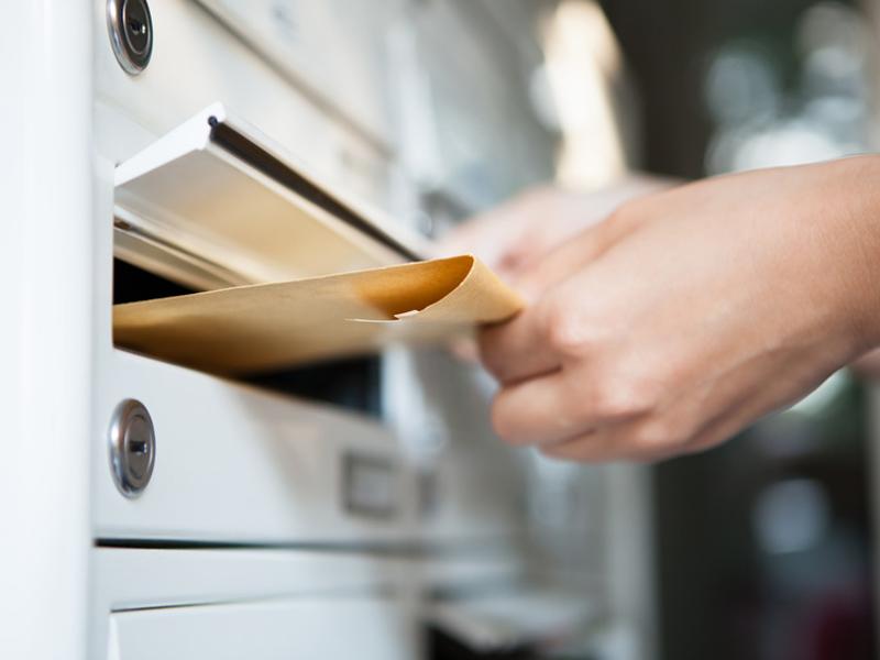 Wohnung kündigen, Kündigung, Briefkasten, Foto: Andrey Popov/fotolia.com
