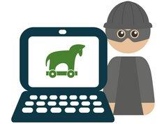 Betrugsmaschen, Trojanisches Pferd, Grafik: immowelt.de