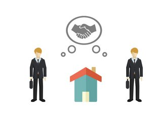 Gemeinschaftsgeschäfte, Makler, Grafik: immowelt.at