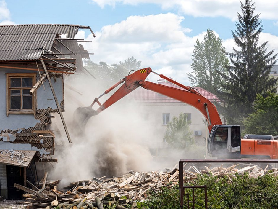 Gebäudeversicherung, Haus wird abgerissen, Foto: Mr Twister/fotolia.com