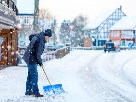 Hausordnung, Schneeräumen